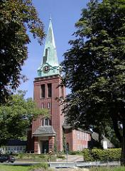 Bilder aus Hamburg Gross Flottbek - Flottbeker Kirche.