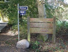 Bilder aus Hamburg Bergstedt Naturschutzgebiet Hainesch Iland