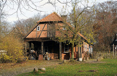 Historische Schmiede im Volksdorfer Museumsdorf.