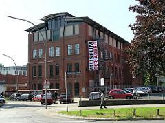Museum der Arbeit in den Barmbeker Gebäuden der ehem. r New-York Hamburger Gummi-Waaren Compagnie.