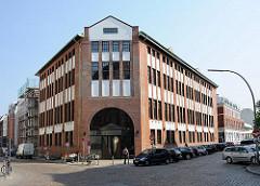 Historische Industriearchitektur Hamburgs - Bilder aus Hamburg Ottensen, Borselhof.
