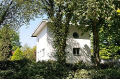 Denkmalschutz in Hamburg - Wohnhaus Nordwald (erbaut 1929/30)in Hamburg Osdorf - Entwurf Architekt Werner Kallmorgen.