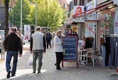 Geschäfte in Hamburg Fuhlsbütte - Läden im Erdkampsweg.