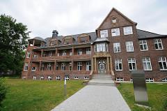 Gebäude des Kinderkrankenhauses Hamburg Altona - Bilder aus dem Stadtteil Hamburg Ottensen.