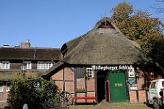 Fachwerkgebäude der Gaststätte Mellingburger Schleuse
