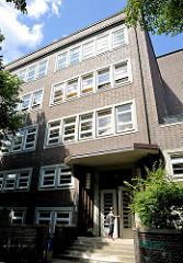 Schulgebäude Stadtteilschule Hamburg Mitte / Griesstrasse.