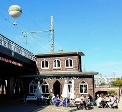 Gebäude der Oberhafenkantine an der Oberhafenbrücke / Oberhafenkanal - Fotos aus dem Hamburger STadtteil Hafencity.