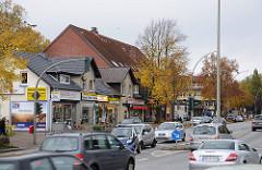 Einzelhandel Strassenverkehr Bramfelder Chaussee Autoverkehr - Verkehrsschneise.