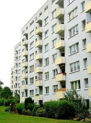 Neubauten in Hamburg Marmstorf - Hochhäuser im Neubauviertel Marmstorfs; Bilder aus dem Stadtteil.