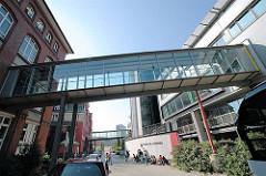 Amt für Strom und Hafenbau - Verbindung zwischen Neu- und Altbau (2005)