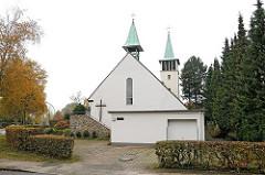 Bruder Konrad Kirche / Stadteil Lurup - Am Barls.