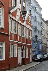 Alte Hamburger Gebäude - Architektur in den Hamburger Stadtteilen - Fotografien aus Hamburg St. Georg.