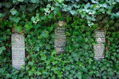 Rosengarten Gedenkstätte Bullenhuser Damm in Hamburg Rothenburgsort.