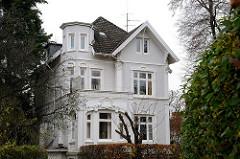 Villa - Muellenhoffweg - Archtitekurfotos - Häuser im Stadtteil Hamburg Flottbek.