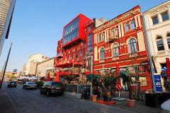 Schmidt Theater - Gebäude am Spielbudenplatz in Hamburg St. Pauli.