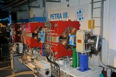 Desy - Modell Petra III Forschungszentrum im Hamburger Stadtteil Bahrenfeld