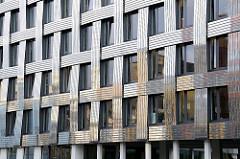 Moderne Hausfassade, Hammerbrookstrasse.