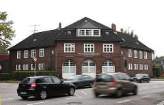 Gebäude Freiwillige Feuerwehr Strassenverkehr PKW Eidelstedter Elbgaustr.