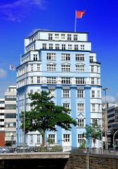 Stellahaus am Schaartor / Herrlichkeit - erbaut 1922 Architekten Zauleck +  Hormann.