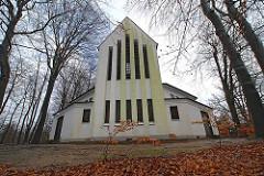 Matthias Claudius Kirche, Hamburg Wohldorf Ohlstedt - erbaut 1954, Architekt Walter Ahrendt.