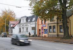 Historische Häuser - Gründerzeitgebäude an der Luruper Hauptstrasse.