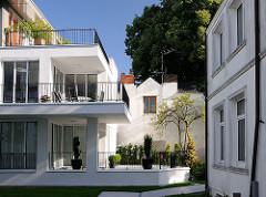 Moderner Neubau in der Ulmenstrasse.