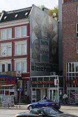 Hoheluftchaussee - Alte WErbung für ein Waschmittel - Fassadenwerbung - Geschichte der Werbung.