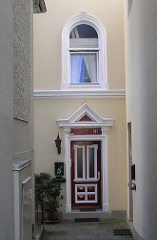 Eingang Tür Gründerzeit Blankeneser Wohnhaus