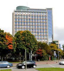 Ehem. Hauptverwaltung der NEUEN HEIMAT in Hamburg Hohenfelde - erbaut 1955/1956, Architekt Ernst May .