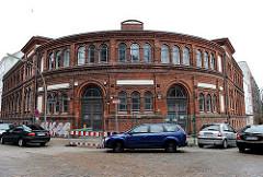 Tedebad in Hamburg Altona Altstadt - Backsteingebäude, erbaut 1882.