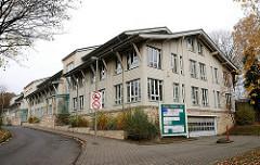 Neubauten / Kontorhaus in Holzbauweise Hamburg Volksdorf, Kattjahren.