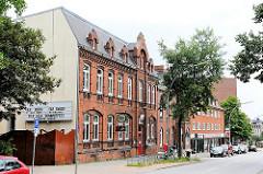 Kulturzentrum Lola in Hamburg Lohbrügge - alte Ziegelarchitektur im Hamburger Stadtteil.