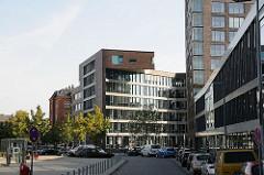 Falkenried Areal - Neubaugebiet in Hoheluft Ost  Bürohäuser + Wohngebäude im Strassenbahnring - ehem. Gelände der Fahrzeugwerkstätten Falkenried.