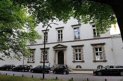 Hamburger Prachtstrasse Palmaille - Sehenswürdigkeiten in Hamburg Altona - Altstadt - Architekturgeschichte in der Hansestadt Hamburg.
