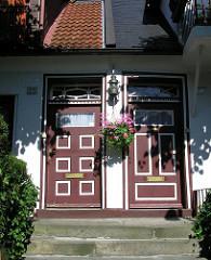 Eingangstüren Wohnhaus Hamburg Blankenese