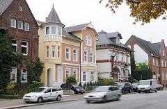 Gründerzeitarchitektur an der Billstedter Hauptstrasse - Bunte Stadtvillen der Gründerzeit.