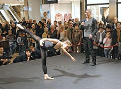 Ballettaufführung und Proben im AEZ - Ballettzentrum Hamburg, John Neumeier.