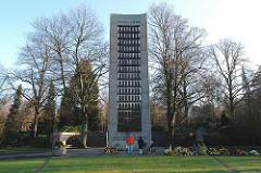 Gedenkstätte für die Opfer der nationalsozialistischen Verfolgung.