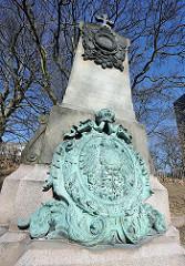 Gedenkstein für die Gefallenen der Östereichischen Marine, Helgoland 1864.