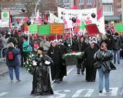 Demonstration gegen die Schliessung der Phönix- Werke 2004