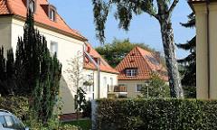 Wohnblocks in der Schenefelder Landstrasse, Hamburger Stadtteil Iserbrook.