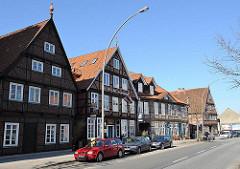 Historische Fachwerkgebäude - Harburger Schlossstrasse.