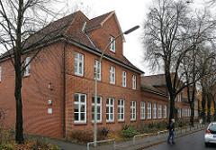Die ehemalige Saseler Volksschule steht seit 2007 unter Denkmalschutz.