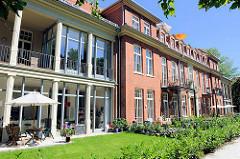 Umnutzung der Gebäude des ehem. Allgemeinen Krankenhaus Barmbek zu Wohnungen - Bilder aus der Hansestadt Hamburg.