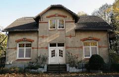 Vorstadtvilla am Billbrookdeich - Gründerzeitarchitektur in Hamburg.