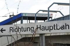 S-Bahn Station Billwerder- Moorfleet