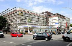 Renovierung des Schneiderblocks an der Osterstrasse / Heussweg in Hamburg Eimsbüttel. Architekt Karl Schneider, erbaut 1928.