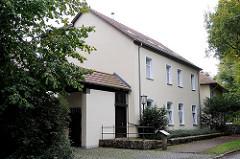 Altes Postgebäude von Wohldorf Ohlstedt. Erbaut 1893, geschlossen 1981.