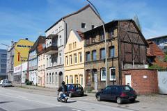 Gründerzeitachitektur - historische Bebauung im Harburger Karnapp.