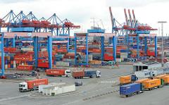 HHLA Container Terminal Hamburg Altenwerder.